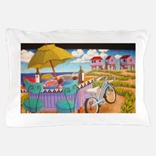 Summer at the Seashore Pillow Case