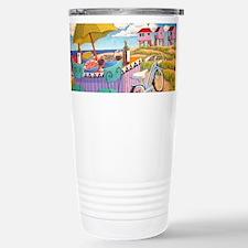 Summer at the Seashore Travel Mug