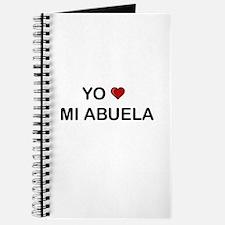 Yo Amo Mi Abuela Journal