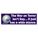 War on Terror Wide Stance Sticker