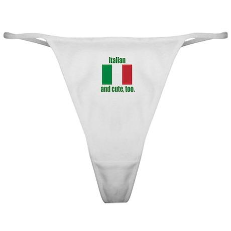Cute Italian Classic Thong