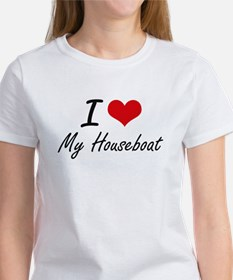 I Love My Houseboat T-Shirt