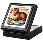 VINTAGE CAT ART Keepsake Box