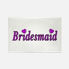 Bridesmaid Simply Love Rectangle Magnet