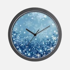 HOLIDAY SPARKLE Wall Clock