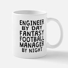 Engineer Fantasy Football Manager Mugs