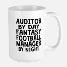 Auditor Fantasy Football Manager Mugs
