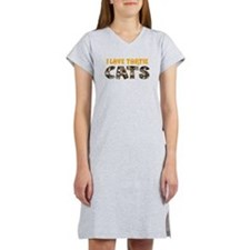 Cute Cat eyes Women's Nightshirt