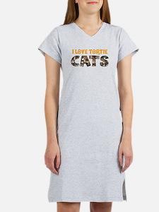 Cool Kitty cat Women's Nightshirt