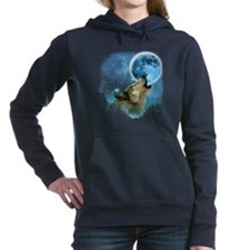 Grey Wolfs Skylight 2 Women's Hooded Sweatshirt