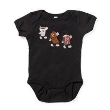 Unique Hotdogs Baby Bodysuit