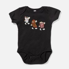 Unique Hotdogs Baby Bodysuit