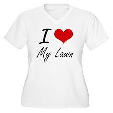 I love My Lawn Plus Size T-Shirt