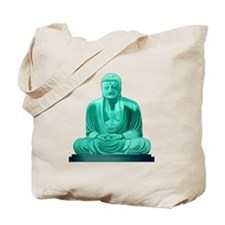 Buddha Jade Tote Bag