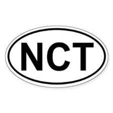 North Country Trail (NCT) Euro-style sticker