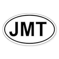 John Muir Trail (JMT) Euro-style sticker