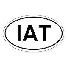 Ice Age/Int'l Appalachian Trail (IAT) Euro-sticker