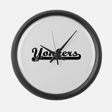 I love Yonkers New York Large Wall Clock