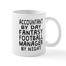 Accountant Fantasy Football Manager Mugs