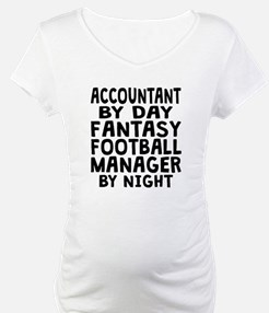 Accountant Fantasy Football Manager Shirt