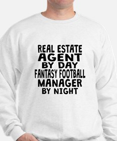 Real Estate Agent Fantasy Football Manager Sweatsh