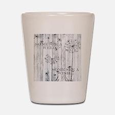 Dandelion Wish Shot Glass
