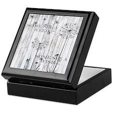 Dandelion Wish Keepsake Box