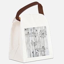 Dandelion Wish Canvas Lunch Bag