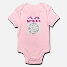 Live Love Netball Body Suit