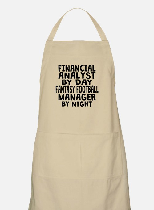 Financial Analyst Fantasy Football Manager Apron