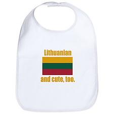 Cute Lithuanian Bib