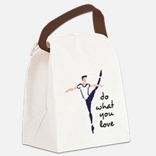 Do What You Love Canvas Lunch Bag