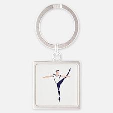 Male Dancer Keychains