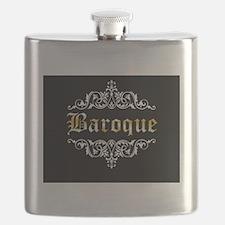 Baroque white Flask