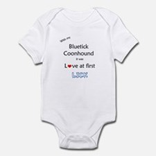Bluetick Lick Infant Bodysuit