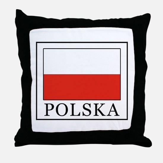 Polska Throw Pillow
