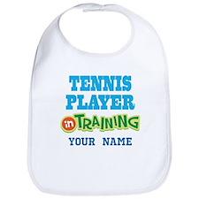 Tennis Player In Training Bib
