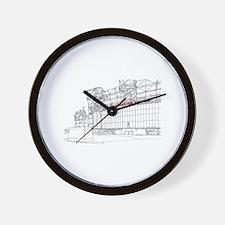 Old Trafford Wall Clock