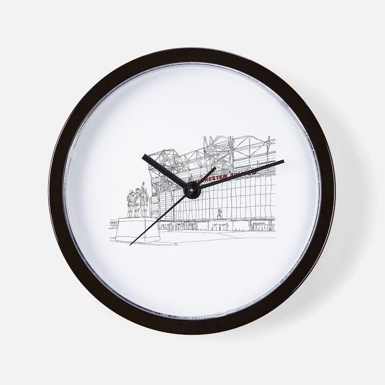 Manchester United Clocks Manchester United Wall Clocks