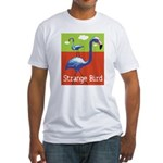 Strange Bird - Flamingo Fitted T-Shirt