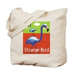 Strange Bird - Flamingo Tote Bag