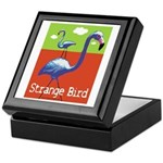 Strange Bird - Flamingo Keepsake Box