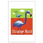 Strange Bird - Flamingo Large Poster