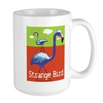 Strange Bird - Flamingo Large Mug