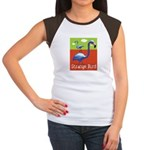 Strange Bird - Flamingo Women's Cap Sleeve T-Shirt