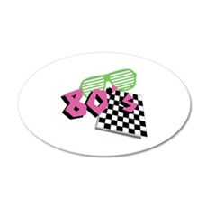 Love The 80s! Wall Decal