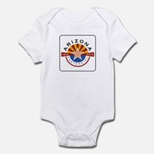 Arizona Centennial 1912-2012 - USA Infant Bodysuit