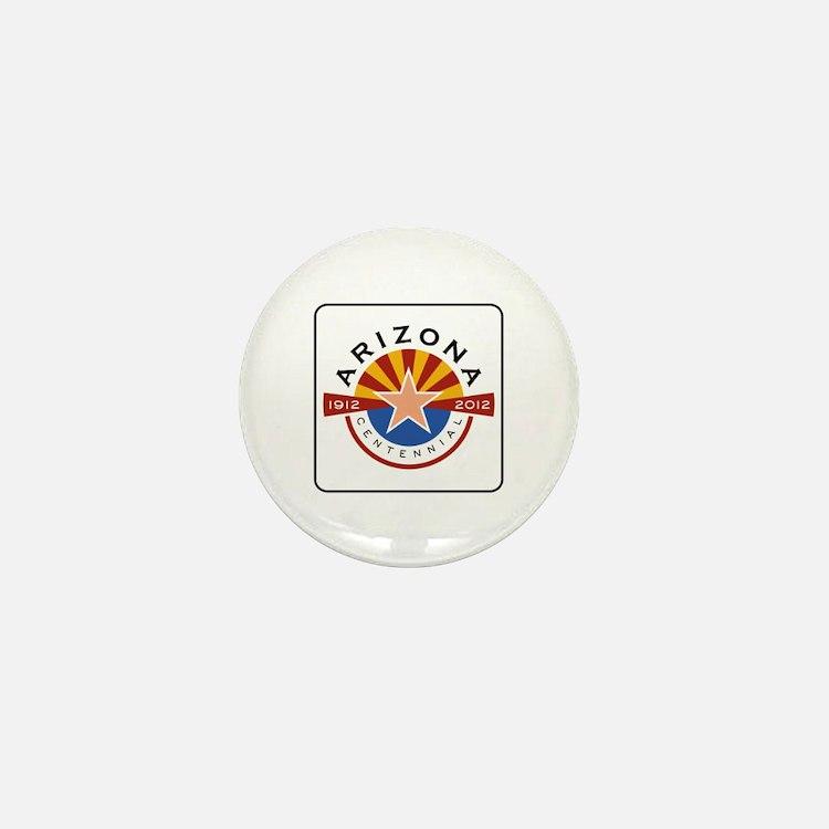 Arizona Centennial 1912-2012 - USA Mini Button