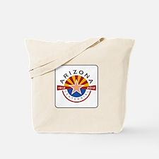 Arizona Centennial 1912-2012 - USA Tote Bag