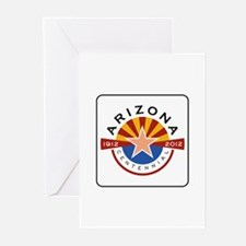 Arizona Centennial 1912- Greeting Cards (Pk of 10)